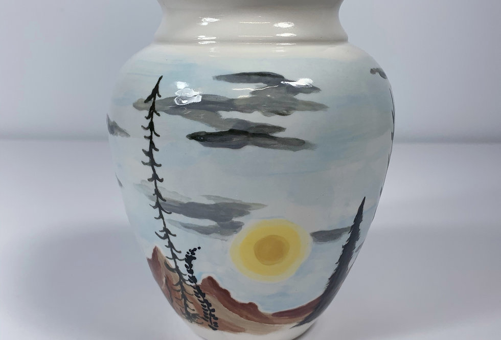My Three Suns Vase