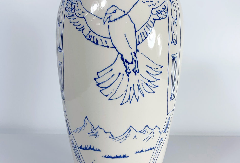 Eagle God 2021 Vase