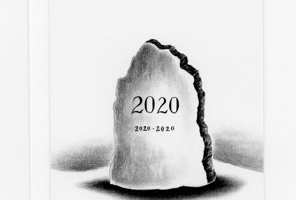 2020 Headstone Card