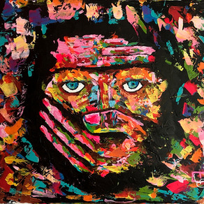 Life Changing Expressive Painting and Who is BGW