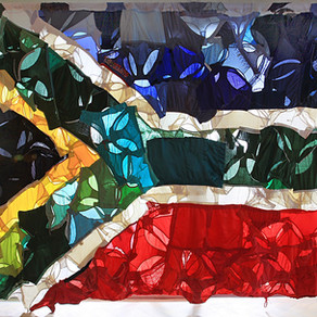 Artist Jenny Nijenhuis Flags a Message of Distress with This is South Africa