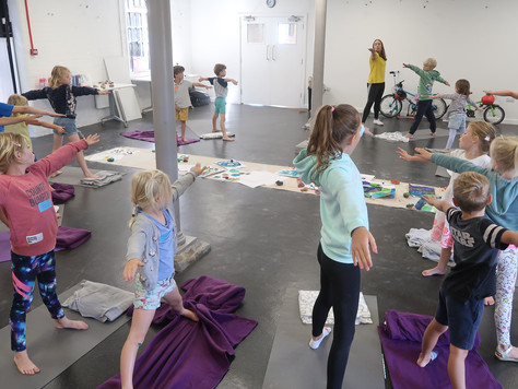 The Benefits of Toddler & Children's Yoga