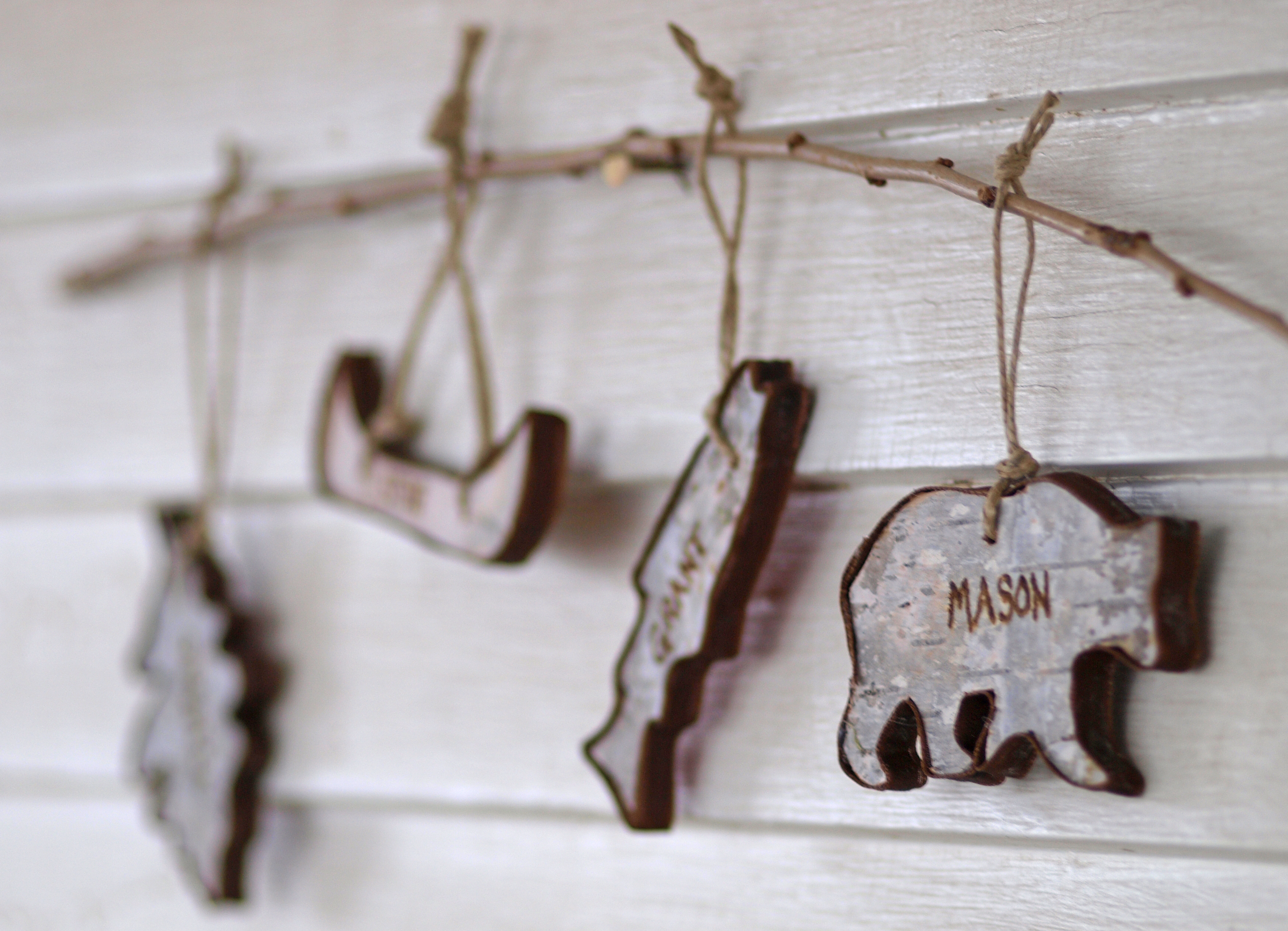 wilderness themed ornaments (3)