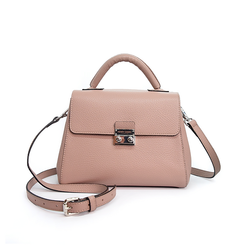 Provence Signature Leather Handbag