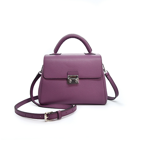 Rio Signature Leather Handbag