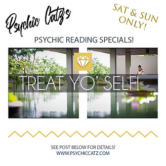 I've got Special Weekend Readings going on! | Psychic Readings