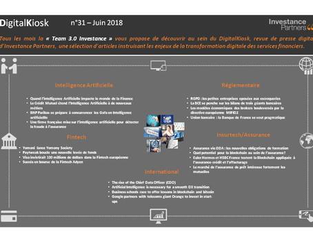 DigitalKiosk n°31 - Newsletter Digital & Innovation Juin 2018