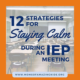 Predetermination In Iep Meeting >> 12 Strategies For Staying Calm During An Iep Meeting Special Needs