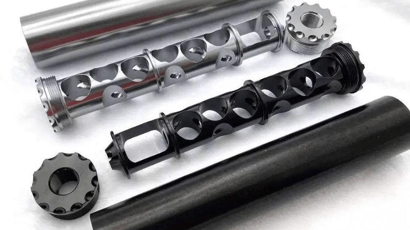"""Aluminum Mono Core Trap (6.3"""" x 1.15"""")"""