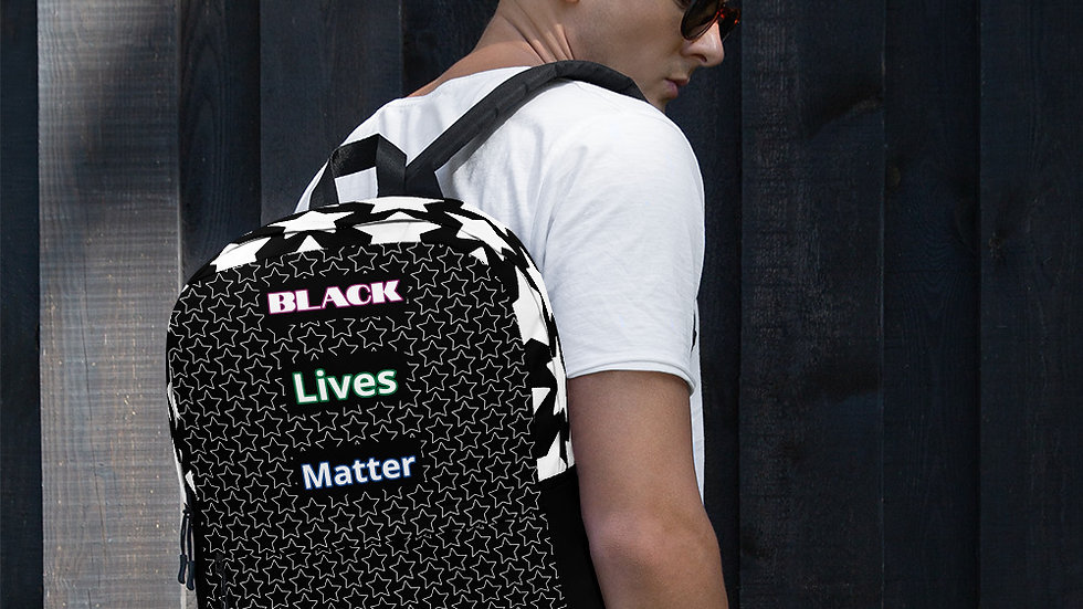 """Star-Quality"" BLM Backpack"