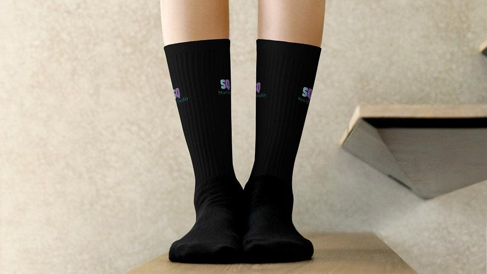 "Black ""Star-Quality"" Socks"