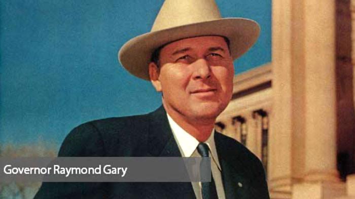 Governor Raymond Gary
