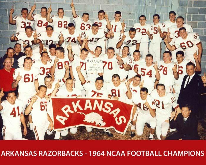 1964 Arkansas championship team