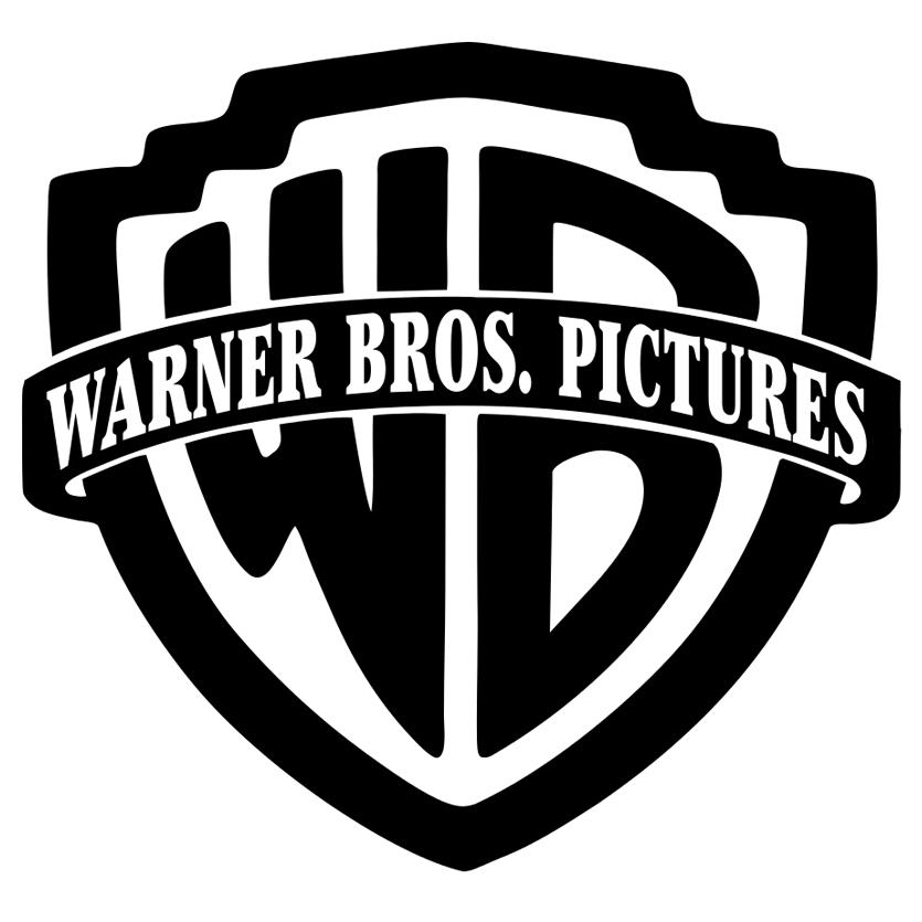 Warner Brothers logo bw