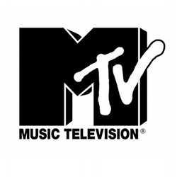 MTV logo bw