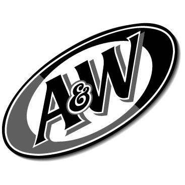 A&W logo BW