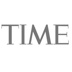 TIME logo bw