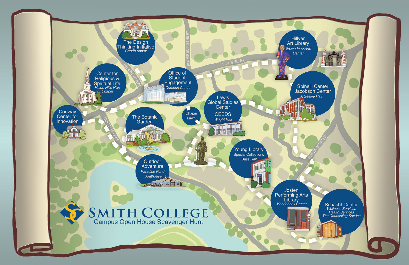 Smith College Scavenger Hunt