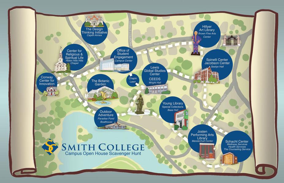 Smith College Scavenger Hunt