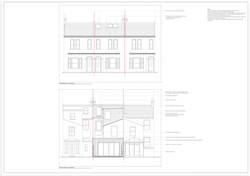 Proposed loft and extension