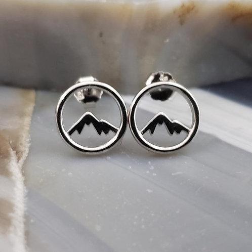 Mountain Stud Earrings