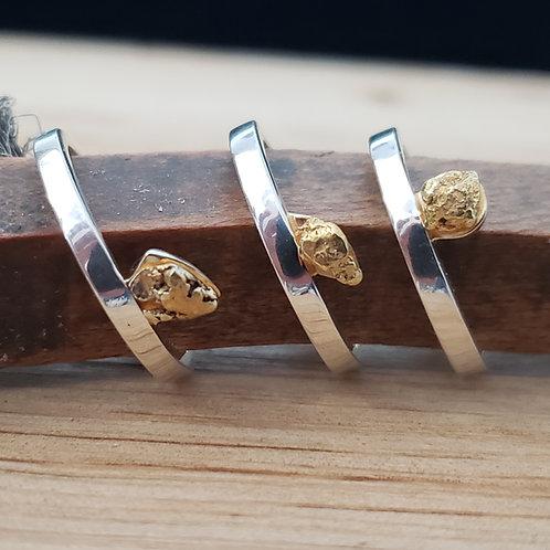 Alaskan Gold Nugget Ring