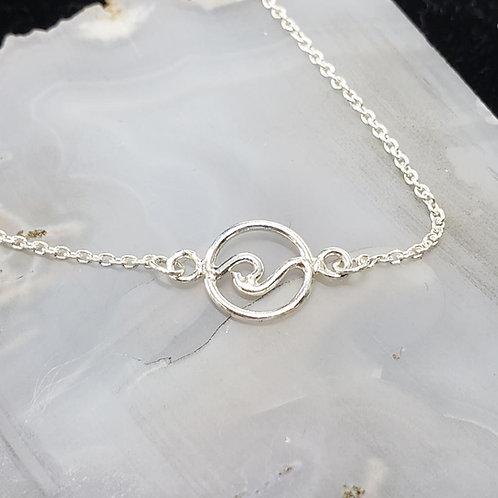 Wave Circle Bracelet