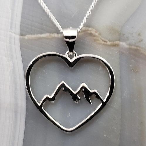 Heart Mountain Pendant