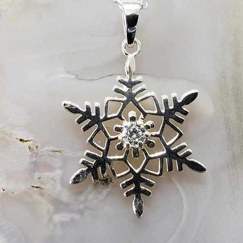 Snowflake Pendant (LG)
