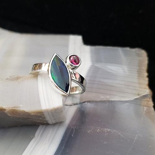 Opal and Rhodolite Garnet