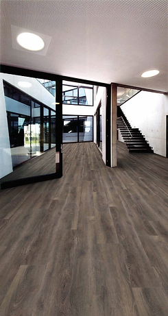 Fuzion Flooring. Dynamix XL plank Smoked