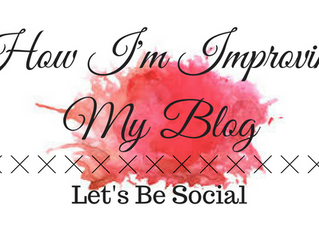 What I'm Doing to Help My Blog