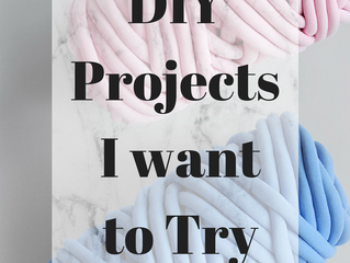 Projects I Want to Try