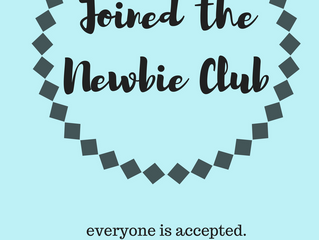 To all the Newbies