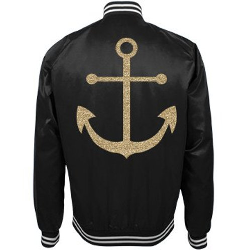 Let's Set Sail Bomber Jacket