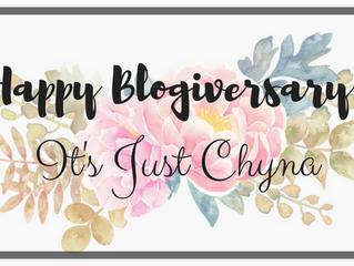 Happy 1st Blog Birthday It's Just Chyna
