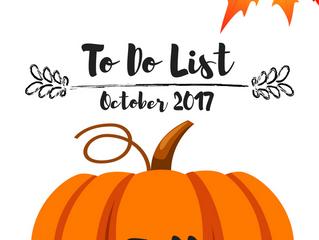 Fall To- Do List