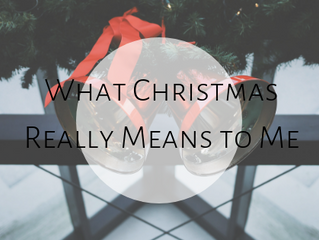 What does Christmas Means to Me...