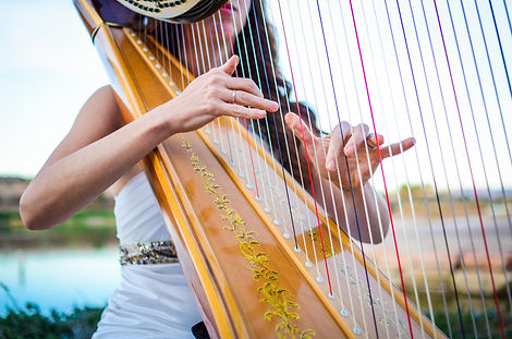 Harp music in Reno