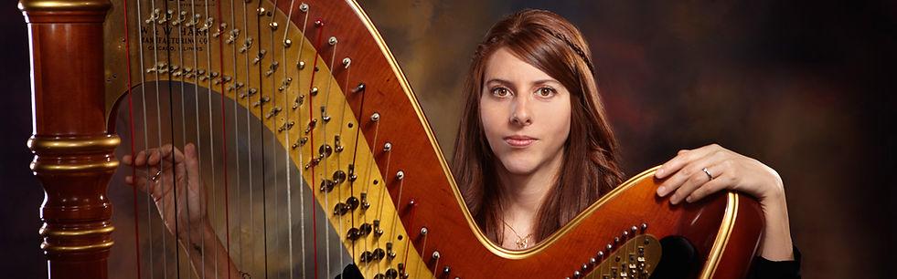 Harpist Emiy Montoya Barnes