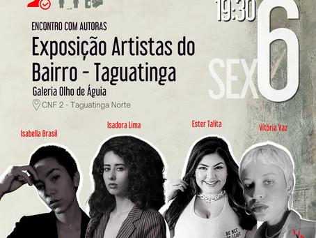 Encontro com Autoras da Exposição Artistas do Bairro