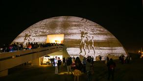 Dia Mundial da Fotografia: projeções fotográficas na cúpula do Museu para celebrar a fotografia