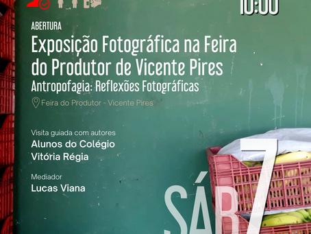 Abertura da Intervenção Fotográfica Feira do Produtor de Vicente Pires
