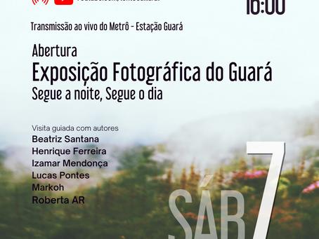 Abertura Exposição Fotográfica do Guará