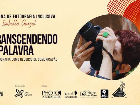 Oficina de fotografia inclusiva visa pessoas com deficiência