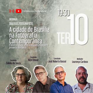 Webinar - A Cidade de Brasília na Fotografia Contemporânea