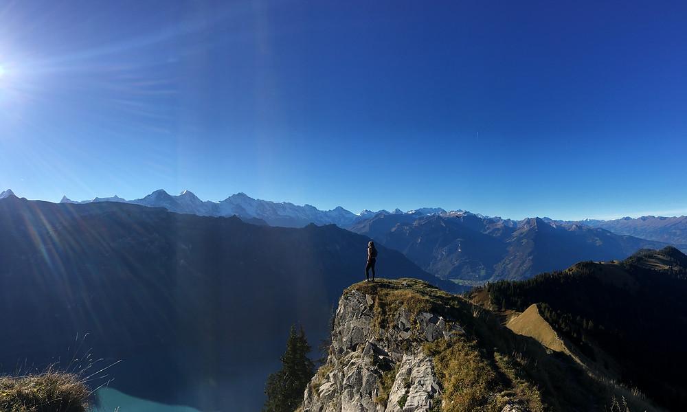 hiking in switzerland!