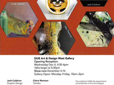 My senior exhibit at SIU-E