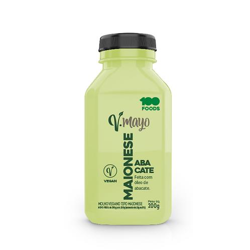 Maionese Vegana V-Mayo de Abacate