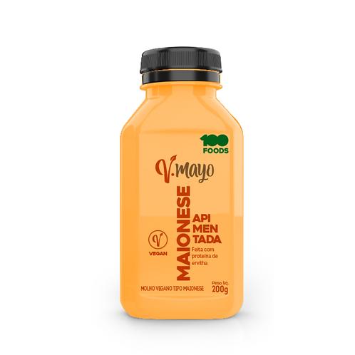Maionese Vegana V-Mayo Apimentada